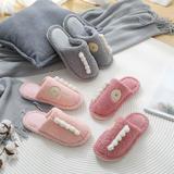 新品推荐!棉拖鞋-怪兽款平跟棉拖(WK-188/P287)