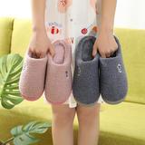 新品推荐!棉拖鞋-卡通头像毛绒款低跟棉拖(WK-186/P290)