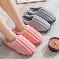 团购推荐!棉拖鞋(约10万)-粗灯芯绒款低跟棉拖P350