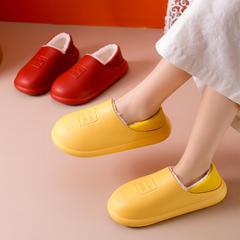 力荐!棉拖鞋-5002—1/5005—1英文防水款包跟棉拖P576