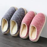 力荐!棉拖鞋-几何格子款(WK-025/M997)