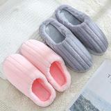 力荐!棉拖鞋-竖条粗款(WK-066/N680)