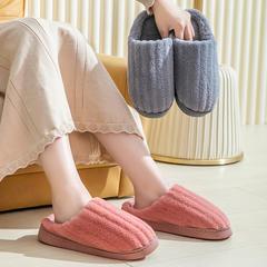 团购推荐!棉拖鞋(约55万)-竖条粗款N680